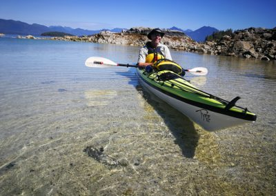Clear Water Paddling